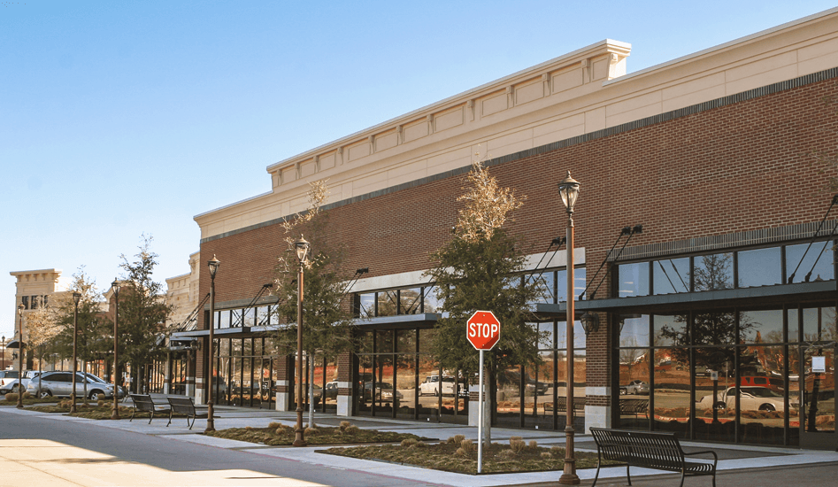 Commercial construction exterior